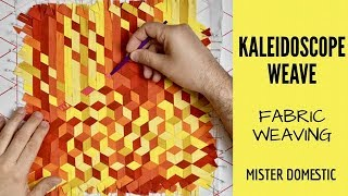 Kaleidoscope Weave - Faḃric Weaving with Mister Domestic