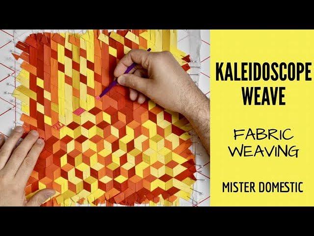 Weaving Fun Quilt Pattern Pieced//Applique//Fabric Weaving DT