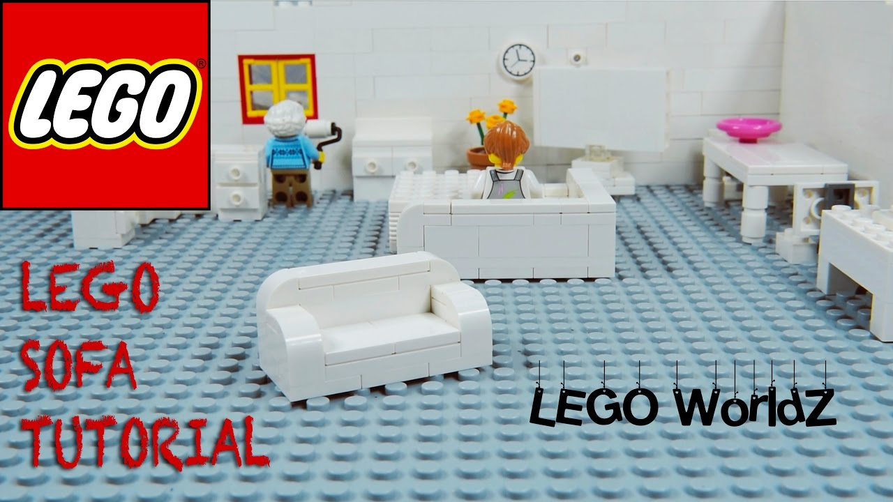 Lego Coffee Table And Sofa Tutorial Living Room How To Series
