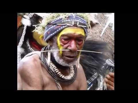 Traditional dances in the inland of Papua New Guinea (test)
