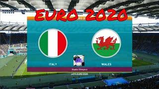 Italy vs Wales Highlight Euro 2020 HD