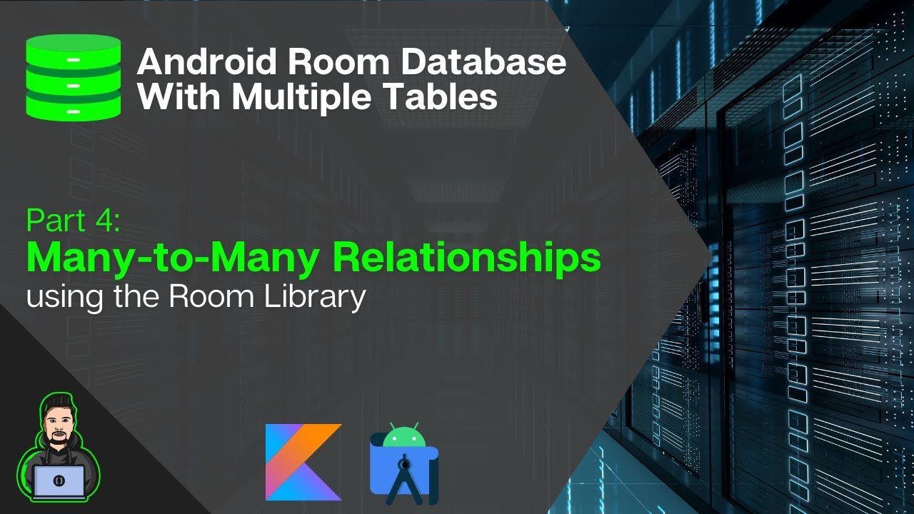 N-to-M Relationships - Android Room Database With Multiple Tables