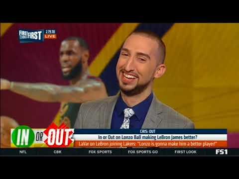 Lavar on LeBron joining Lakers :