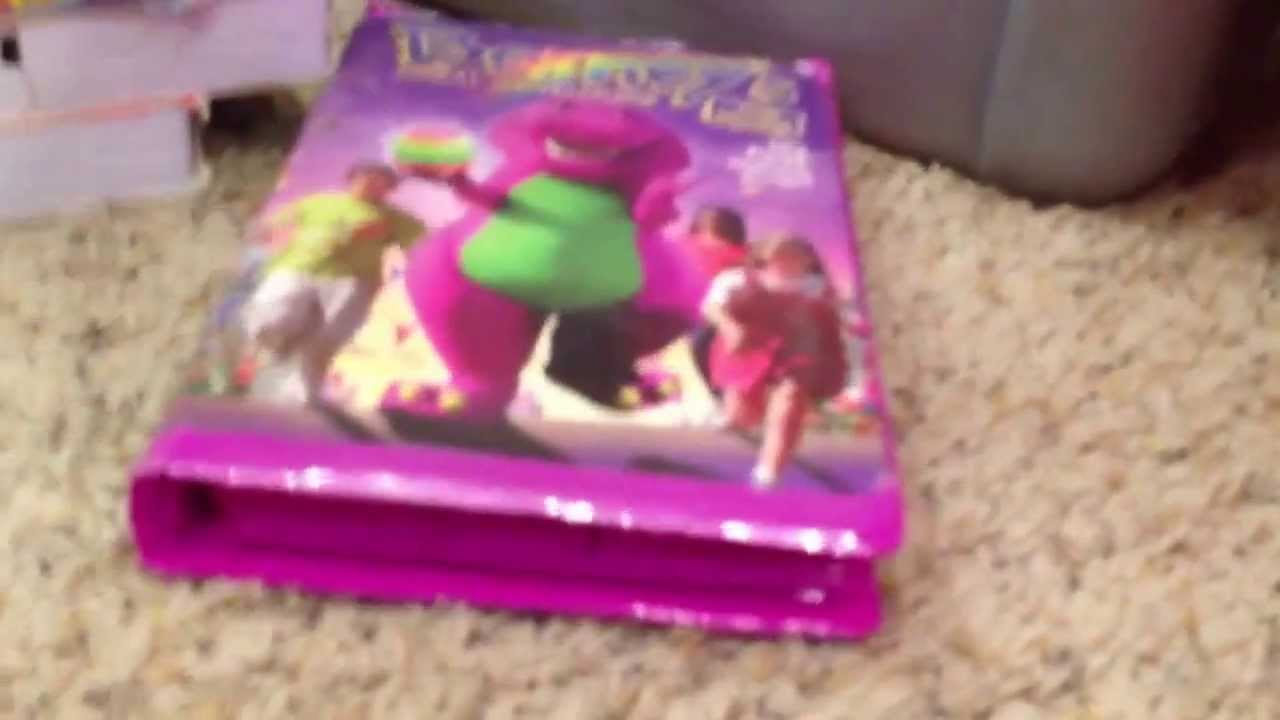my entire barney vhs collection youtube