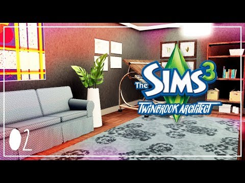 The Sims 3 Ambitions - Twinbrook Architect Part 02 - BAD REVIEW