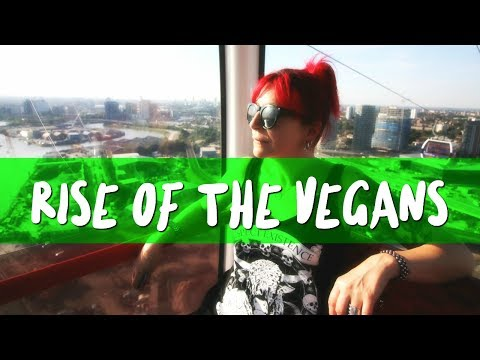 Rise Of The Vegans | LDN Vegans Take To The Emirates Cable Car