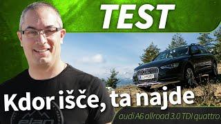 2013 audi A6 allroad 3.0 TDI quattro -  test