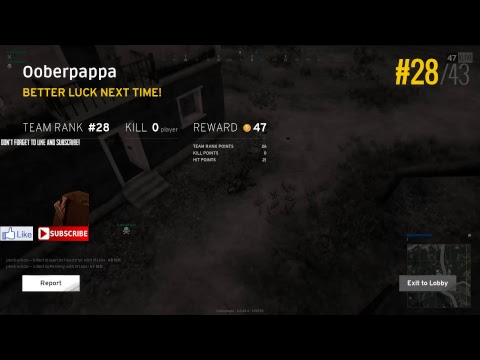 Chicken, fried or roasted!!!! DB Gaming PUBG!!!!!!!! PlayerUnknown's Battlegrounds