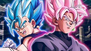 ULTIMATE BATTLE! RHYMESTYLE'S BLUE TEAM vs NANOGENIX'S ROSE TEAM! Dragon Ball Z Dokkan Battle