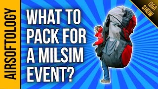 What to bring to your first Milsim Event | Airsoftology Q&A Show