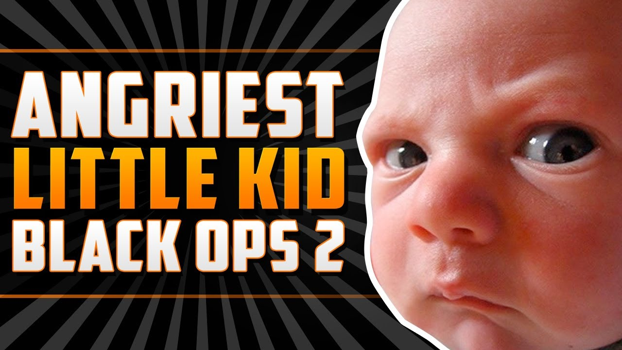 angriest little kid on black ops 2 1v1 rage youtube