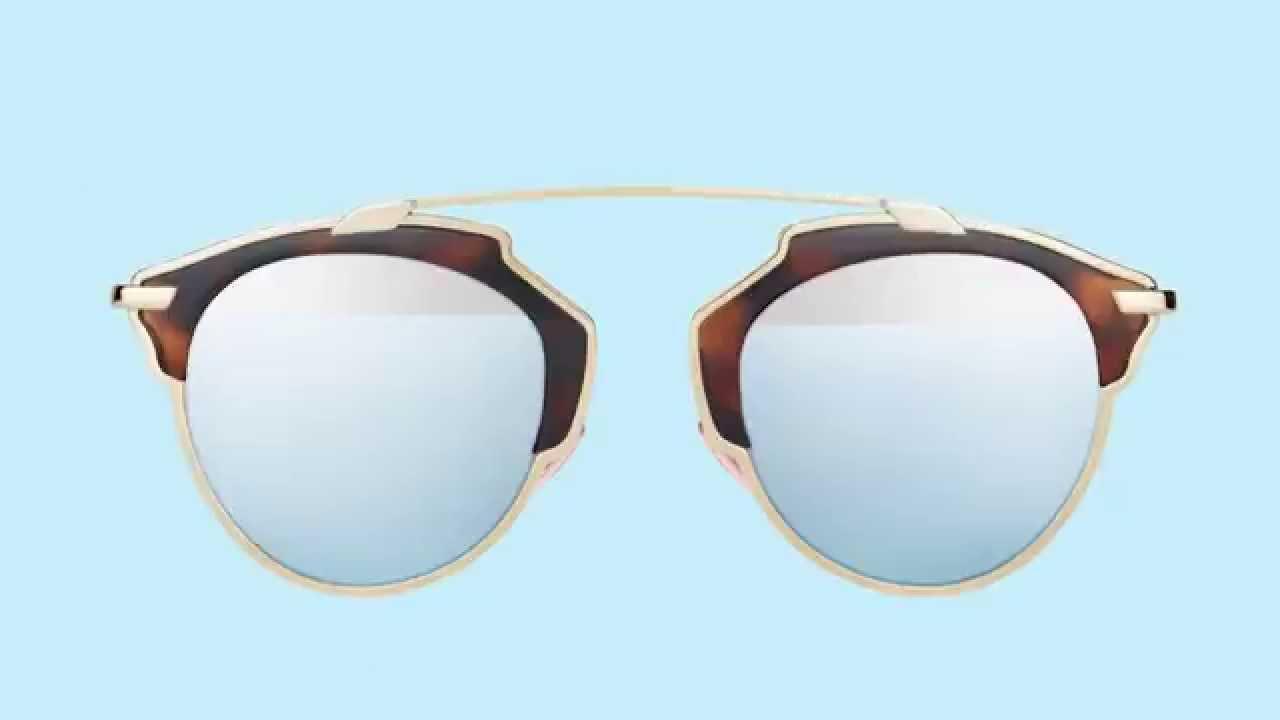 Γυαλιά Ηλίου Dior SoReal - YouTube dae0a2666ac