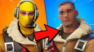 FORTNITE Skins WITHOUT Mask! 😱