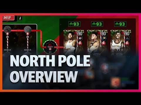 North Pole Promo Overview & Pack Opening!  - NBA Live Mobile