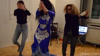 Danza Iraqi a Roma رقصه عراقيه في روما