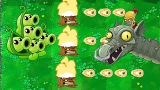 🌻Plants vs Zombies 2 💀 | PEA POD + TORCH WOOD = INSANE ☠️