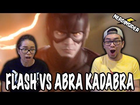 THE FLASH VS ABRA KADABRA Season 3 Episode 18 REACTION & REVIEW