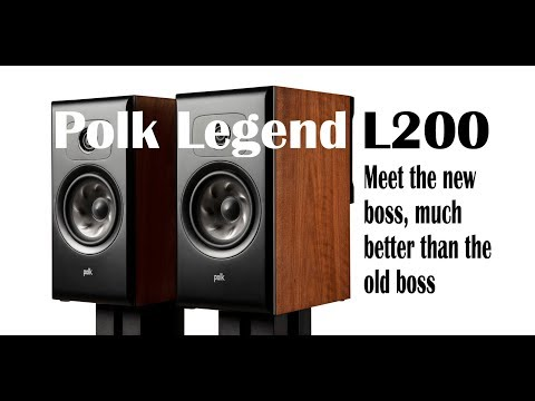 Review: The new Polk Legend 200, including comparison with KEF LS50