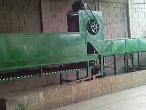 Tunel para secado de papas