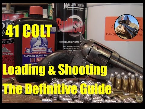 41 Colt - The Definitive Guide: How to Care and Feed Your Revolver
