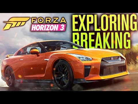 Forza Horizon 3 Gameplay | WORLD EXPLORATION, FESTIVAL, BREAKING THE GAME & INVISIBLE WALLS?