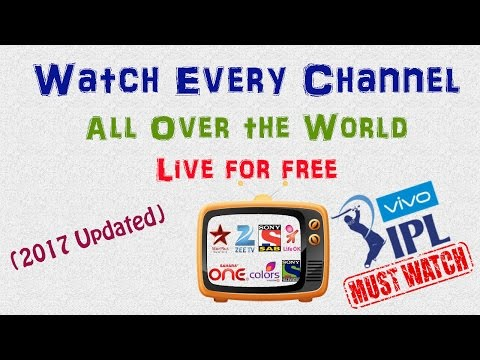How to Watch Live TV Online in Any Android Device For Free  200 Channels Worldwide  Cricket Live