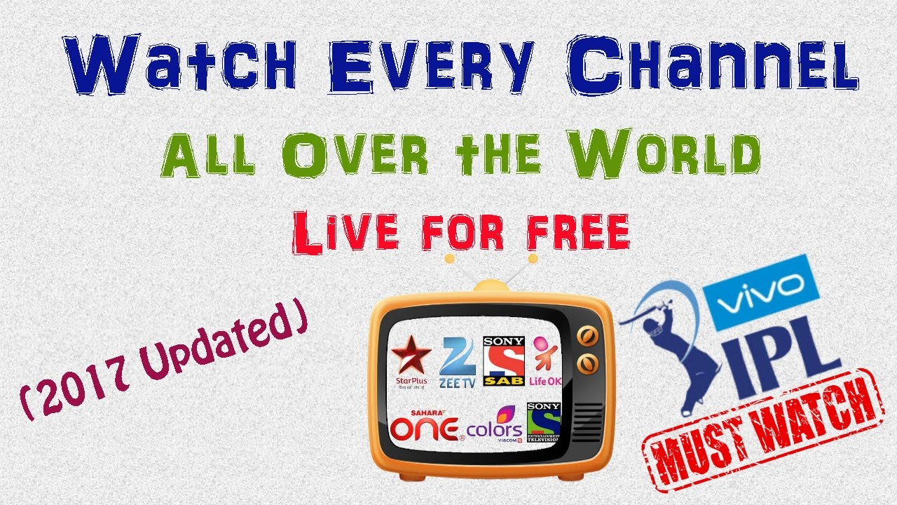 How To Watch Live Tv Online In Any Android Device For Free 200 Channels Worldwide Cricket