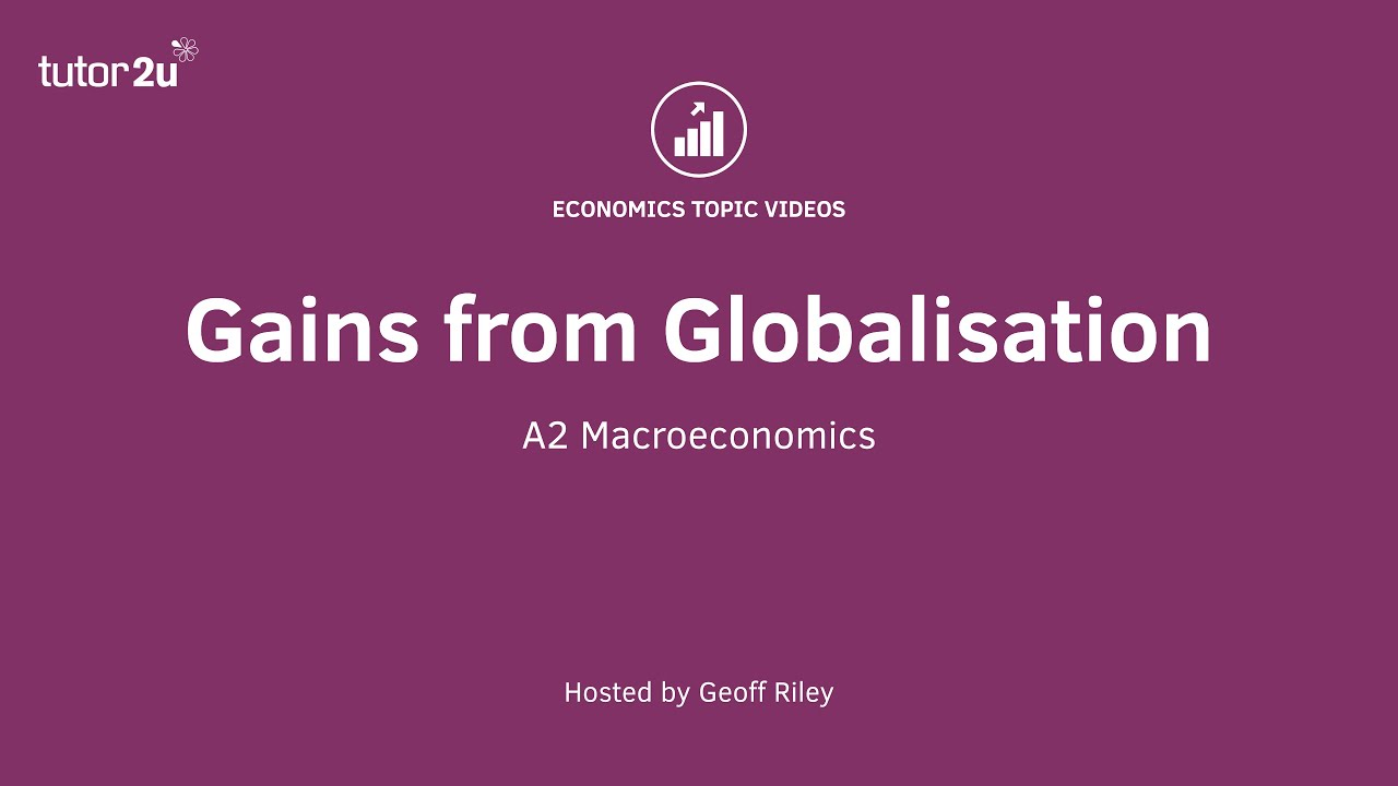 gains from globalisation