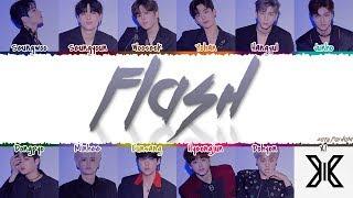 X1 (엑스원) - 'FLASH' Lyrics [Color Coded_Han_Rom_Eng]