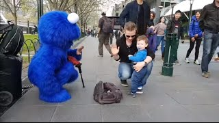 The Cookie Monster Plays the Bagpipes?.. Cool!