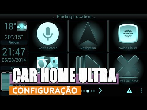 CONFIGURING CAR HOME ULTRA - TABLET APPLICATION IN THE CAR