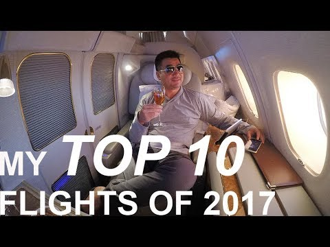 My TOP 10 FLIGHTS of 2017