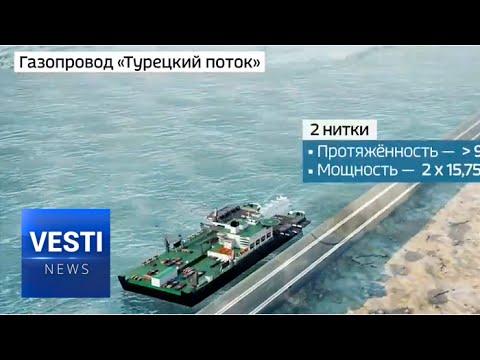 Putin Kicked Off Turkish Stream's Connection