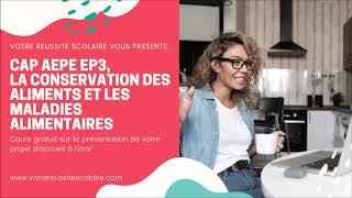 CAP AEPE EP3 - La conversation des aliments