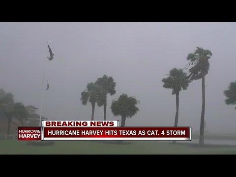 Hurricane Harvey strengthens to Cat 4, Texas prepares for life-threatening storm