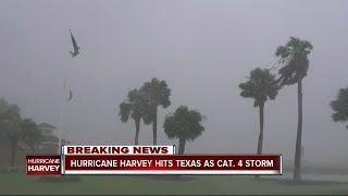 Hurricane Harvey strengthens to Cat 4, Texas prepares for 'life-threatening storm'