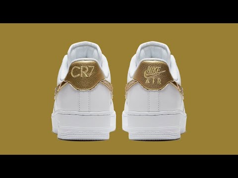 Nike Cristiano Ronaldo 24K Gold Air