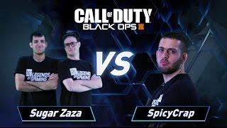 פרק 9: Sugar Zaza vs SpicyCrap - Call of Duty