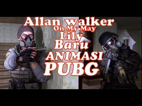 animasi-pubg-allan-walker-on-my-may-lily