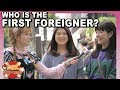 Stranger-danger? 1st time Japanese met a foreigner.