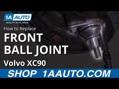 How to Replace Front Lower Ball Joint 02-14 Volvo XC90