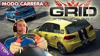Grid Autosport Let´s Play Español Con volante #1