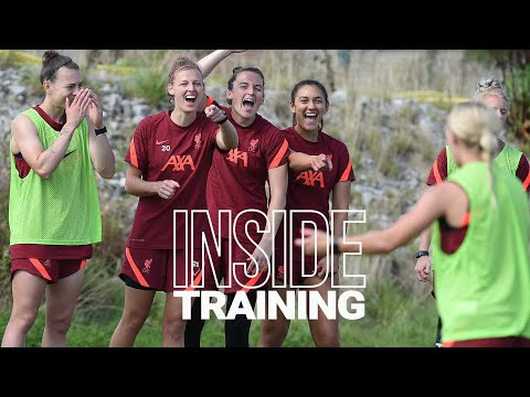 Inside Training: Five-a-side as Liverpool FC Women prepare for Crystal Palace