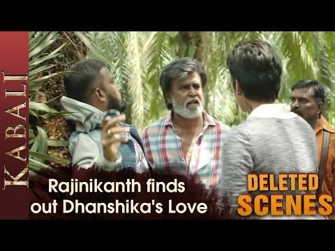 Rajinikanth finds out Dhanshika's Love |...