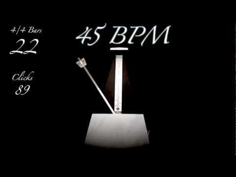 45 BPM Metronome
