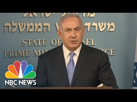 Benjamin Netanyahu On Iran Deal Decision: 'Israel Fully Supports' President Donald Trump | NBC News