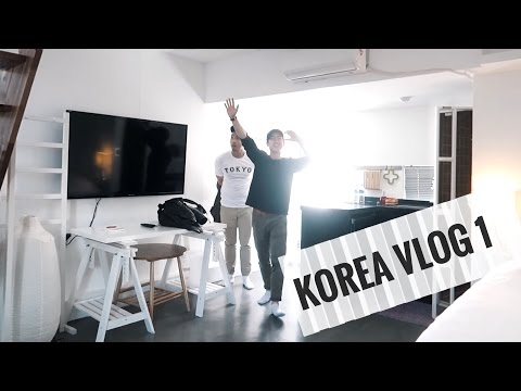 KOREA VLOG: DAY 1IN SEOUL & WE'RE IN LOVE