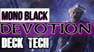 Mtg Deck Tech: Mono-Black Devotion in Theros Beyond Death Standard!