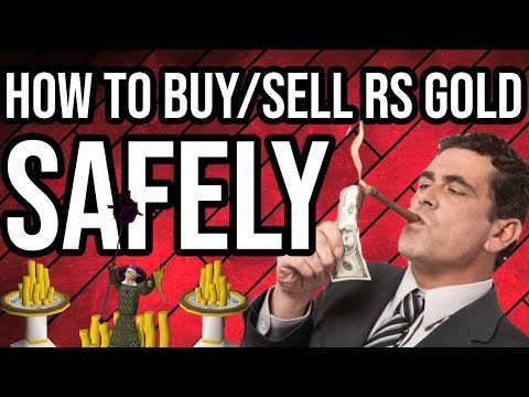 How To Safely Buy/Sell RS Gold