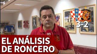Roncero, decepcionado con De Gea: